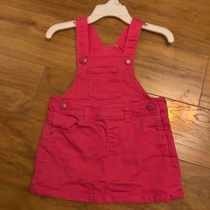 Baby Gap Pink Denim Dress